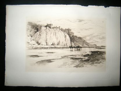 Amand Durand after George Reid 1885 Heliogravure. Culzean Castle | Albion Prints